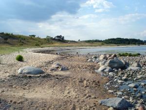 Stranden mellan Haväng och Vitemölla