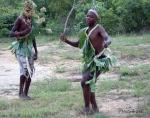 Ett sätt att tjäna några rand var att dansa för passerande turister