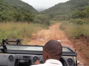 Vägen(?) upp till Bongani