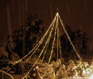 Kvällen med snö
