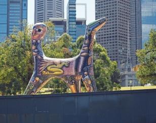 Aboriginskt konstverk