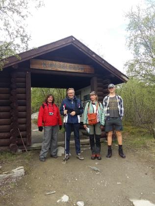 Porten till Kungsleden. Foto Ulrika Nordgren